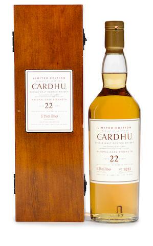 Cardhu- 12 years old (1)  Cardhu 1982- 22 years old (1)