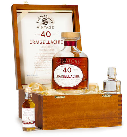 Craigellachie- 40 years old (1)