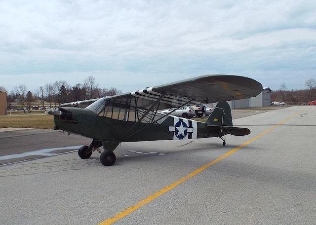 """A Piper L-4 """"Grasshopper"""", c.1943,"""