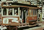 1906 Hammond San Francisco California Street Cable Car