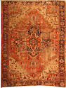 A Heriz carpet  size approximately 8ft. 5in. x 11ft. 5in.