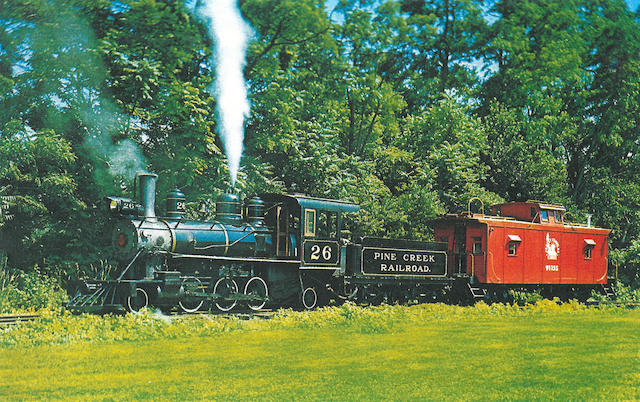 A 1920 Baldwin 2-6-2 Locomotive,