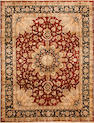 An Indo Tabriz carpet  size approximately 8ft. x 10ft.