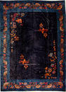 A Chinese carpet size approximately 9ft. 11in. x 13ft. 5in.
