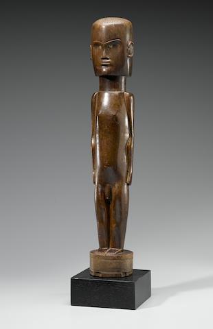 Large Dinka Male Standing Figure, Sudan