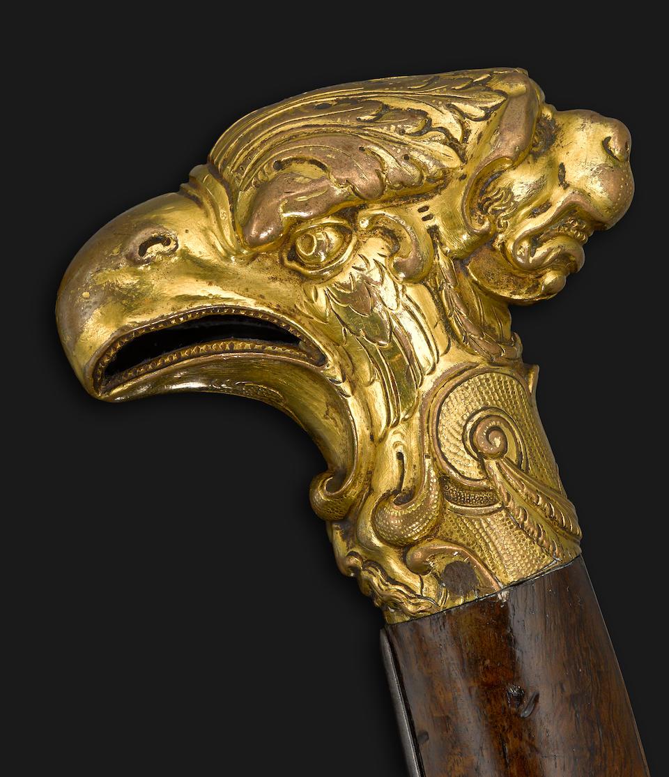 An early French flintlock pistol by Pierre Laon