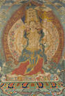 A thangka of tantric deity Tibet, 19th century
