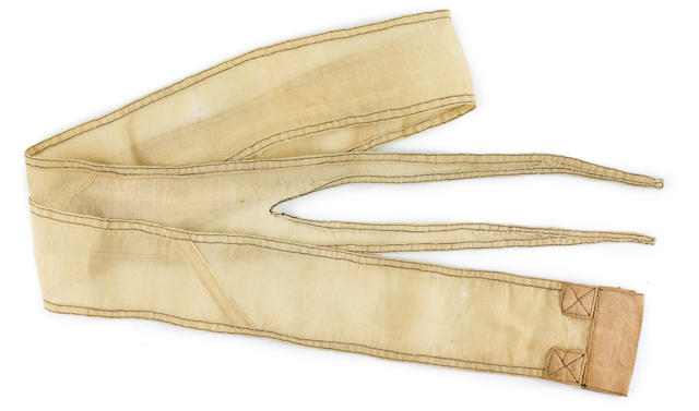 U-49's Commissioning Pennant circa 1939 5 ft, 3 in. (159.6 cm.), length.