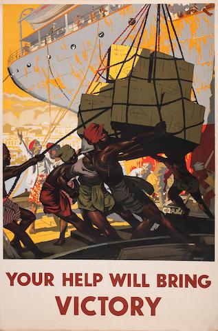 British Empire propaganda posters Each 19.5 x 29 in (50 x74 cm)