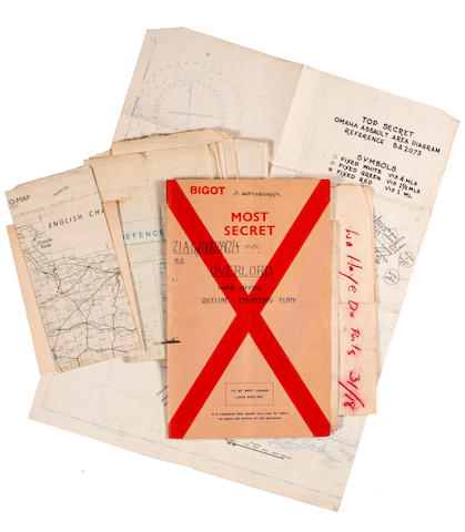 Operation Overlord: Shaef (44) 22, Supreme Headquarters, Allied Expeditionary Force, [Eisenhower] memo dated 10 March 1944
