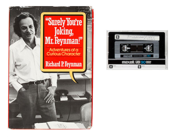 FEYNMAN, RICHARD and LARRY GROBEL.