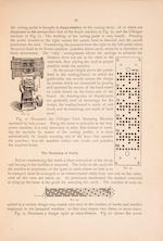 POSSELT, EMANUEL ANTHONY. 1858-1921. The Jacquard Machine Analyzed and Explained: With an Appendix on the Preparation of Jacquard Cards.... Philadelphia: under the Auspices of the School [Pennsylvania Museum and School of Industrial Art], 1888.