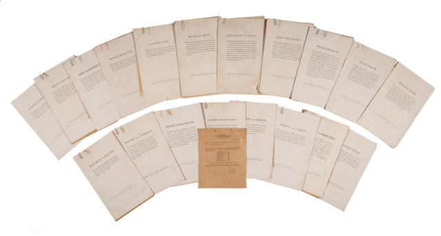 The Nuremberg Trials: The Russel McCallum collection of papers on the International Miltary Tribunal October 1946