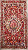 A Bakhtiari long carpet  size approximately 6ft. 4in. x 11ft. 4in.