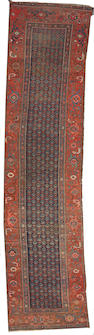 A Bidjar runner  size approxiamtely 3ft. 2in. x 15ft. 1in.