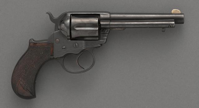 A Colt Model 1877 Thunderer double action revolver