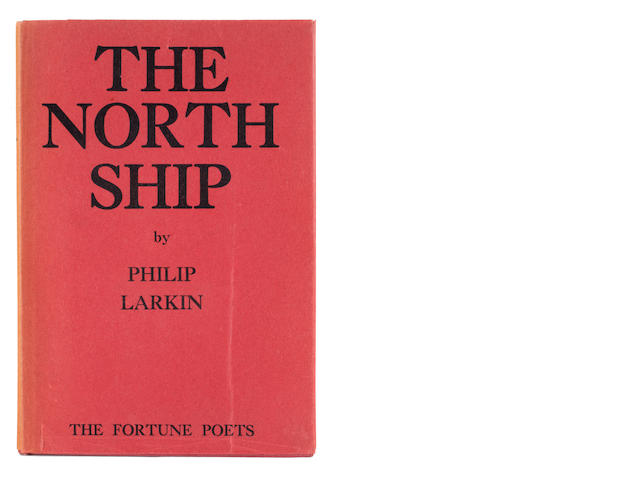 LARKIN, PHILIP. 1922-1985. The North Ship. London: The Fortune Press, [1945].
