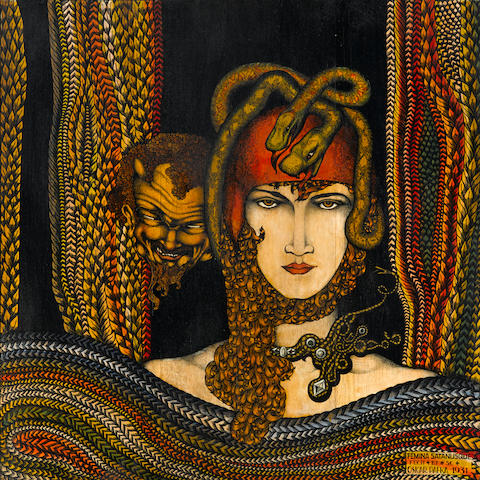 Oscar Pafka (Czechoslovakian, 1896-1949) Femina Satanusque