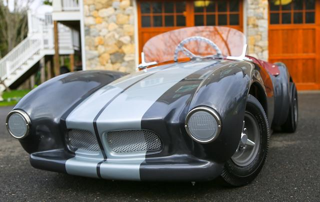 A 1/4 scale 'Offyette Sportster' childs car, circa 1950s,