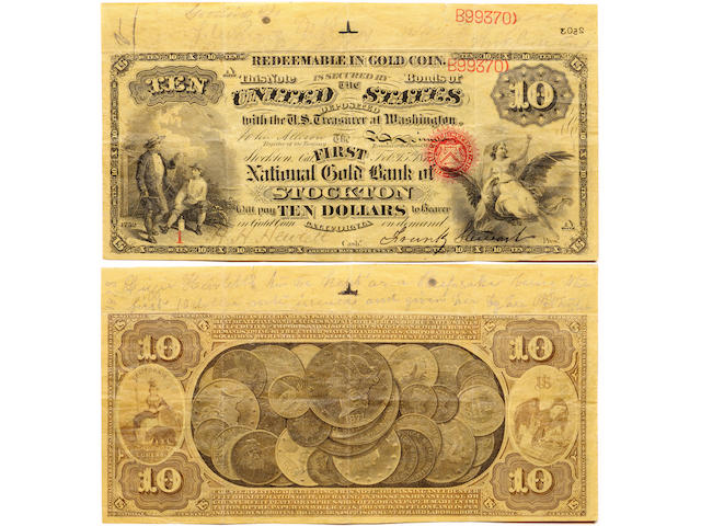 A group of 5 banknotes