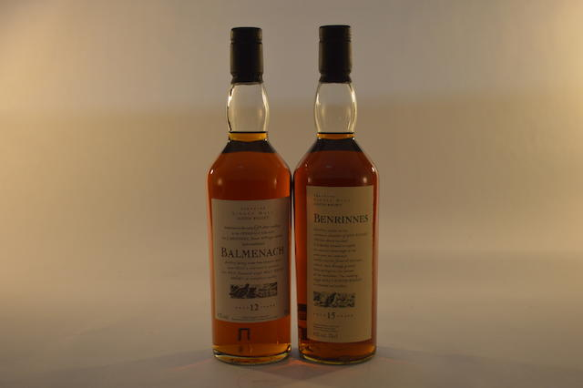 Balmenach 12 years old (1) Benrinnes 15 years old (1)