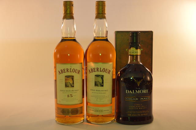 Aberlour 15 years old (1) Aberlour 1990 (1) Dalmore Cigar Malt (1)