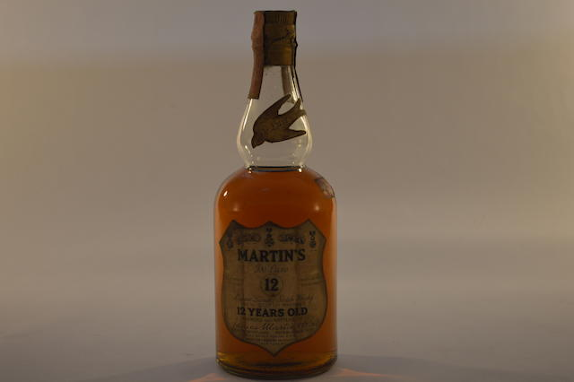 Martin's Deluxe 12 years old (1) S.S. Pierce Scotch 12 years old (1)