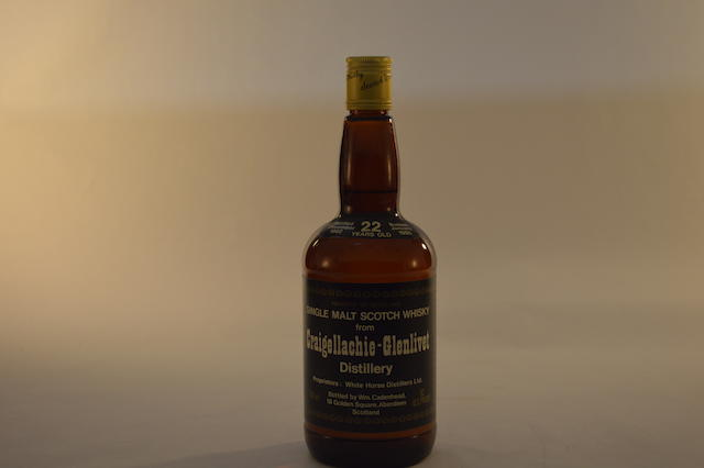 Craigellachie-Glenlivet 1962- 22 years old (1)