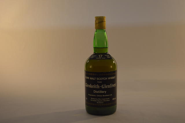 Glen Keith-Glenlivet 1967- 17 years old (1)