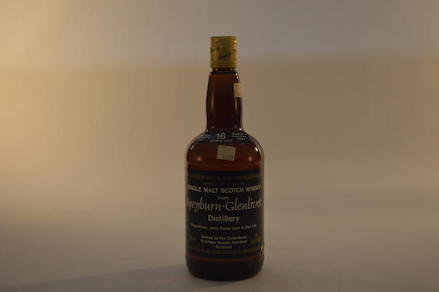Speyburn-Glenlivet 1967- 16 years old (1)