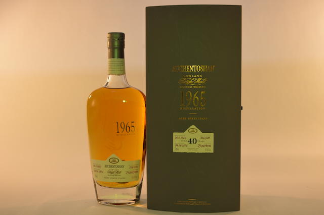Auchentoshan 1965- 40 years old (1)