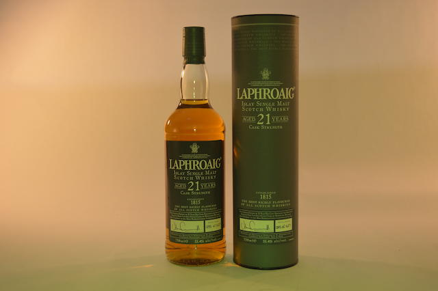 Laphroaig- 21 years old (1)