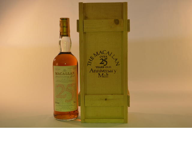 Macallan Anniversary 1964- 25 years old (1)