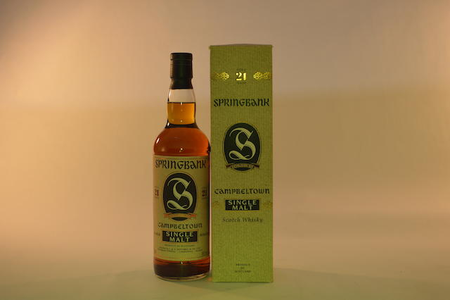 Springbank- 21 years old (1)