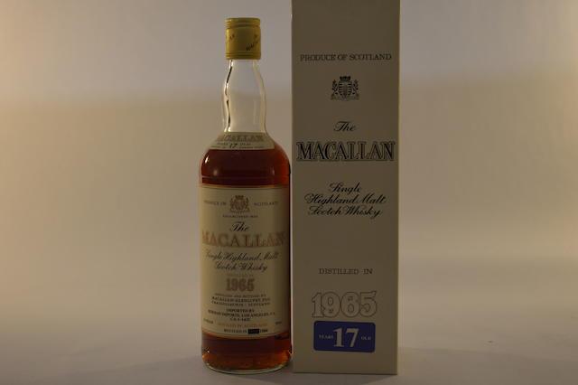 Macallan 1965 17 years old (1)