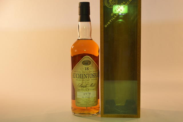 Auchentoshan 1978- 18 years old