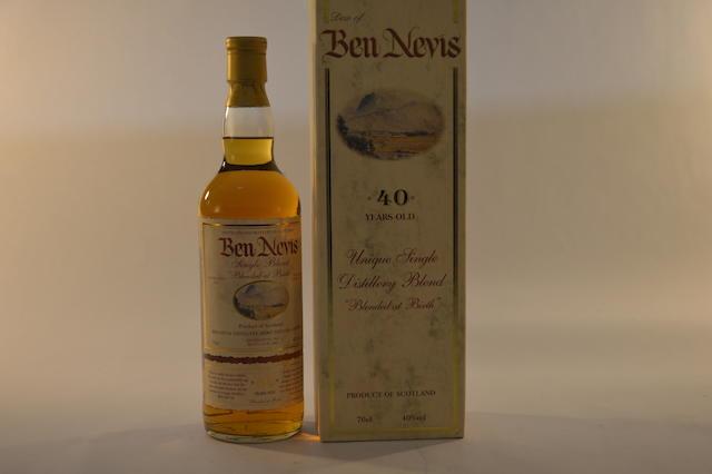 Dew of Ben Nevis 40 years old (1)