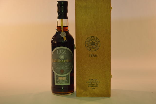 Tullibardine 1970- 21 years old (1)  Tullibardine 1966- 40 years old (1)