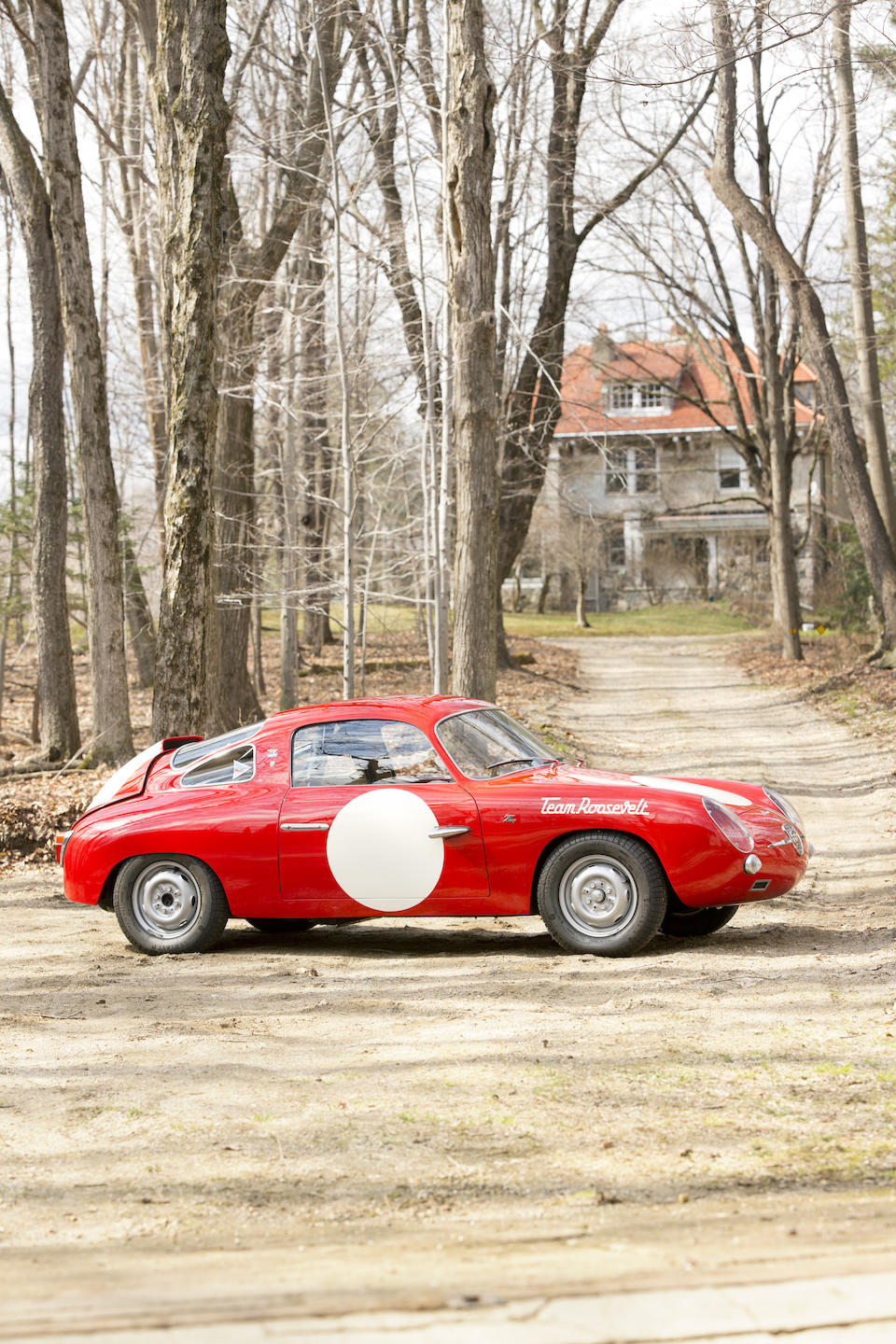 <i>Ex-Team Roosevelt</i><BR /><B>1959 FIAT-Abarth 750 Record Monza Bialbero Coup&#233;<BR />Coachwork by Carrozzeria Zagato</B><BR />Chassis no. 550486<BR />Engine no. 600319 (its matching numbers unit with car, see text)