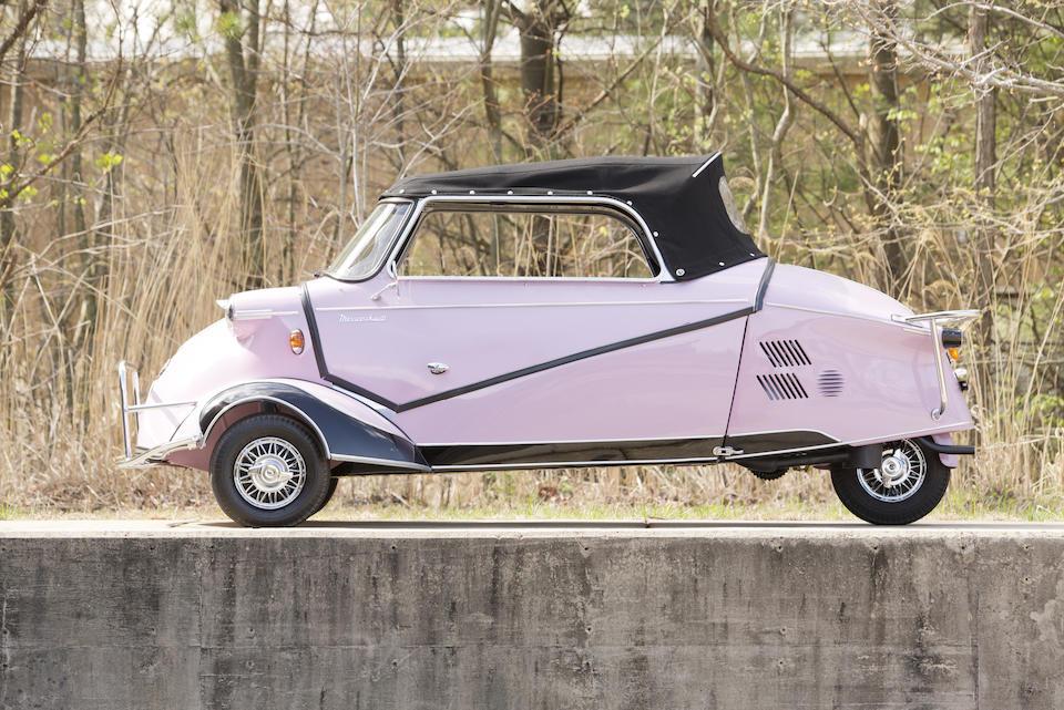 <B>1955 Messerschmitt KR200 <i>Kabinenroller</i> Kabrio</B><BR />Chassis no. 55126