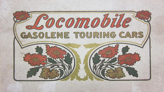 A Locomobile noncolor catalog, 1905,