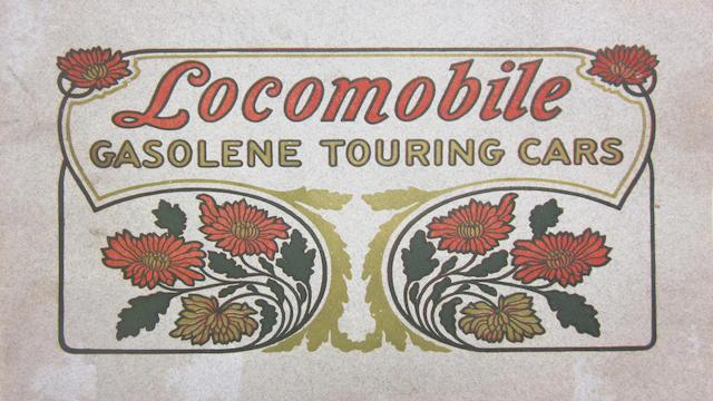 A Locomobile noncolor catalog, 1905,