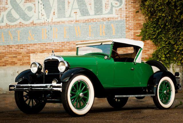 <b>1927 Essex Super Six Boattail Speedabout   </b><br />Chassis no. 548825 <br />Engine no. 612768