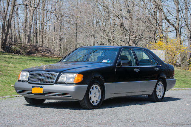 <b>1994 Mercedes-Benz S600 Sedan </b><br />VIN. WDBGA57EXRA179518