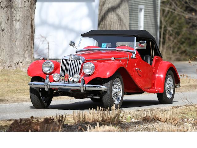 <b>1955 MG TF 1500 </b><br />Chassis no. HDE43/9637 <br />Engine no. XPEG/TF/3382