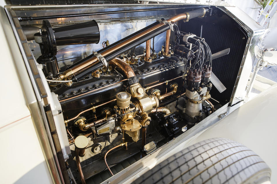 <i>Ex-Alton Walker, founding Chairman of the Pebble Beach Concours d'Elegance</i><BR /><B>1925 Rolls-Royce Silver Ghost Piccadilly Roadster<BR />Coachwork by Merrimac</B><BR />Chassis no. S169MK<BR />Engine no. 20694