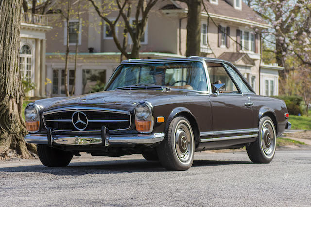 <b>1971 Mercedes-Benz 280SL Roadster </b><br />Chassis no. 113044-12-022076