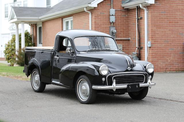 <i>Ex- Whoopi Goldberg</i><br /><b>1956 Morris Minor 1000 Quarter-Ton Pickup  </b><br />Chassis no. 9M-U-H-182969