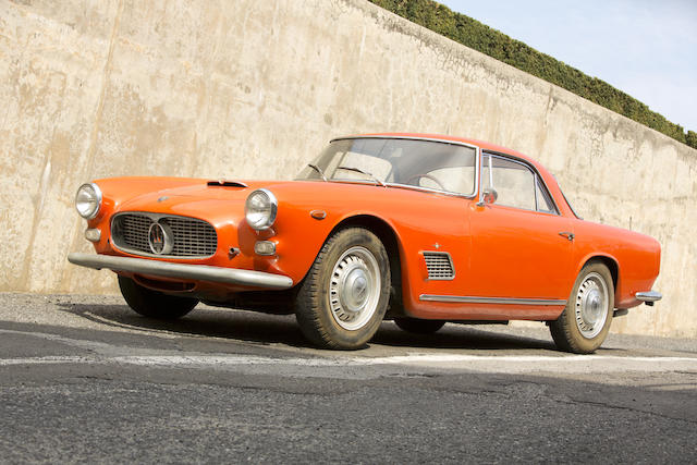 <i>Unrestored survivor, 31,370 miles from new</i><BR /><B>1963 Maserati 3500 GTi Superleggera Coupe<BR />Coachwork by Touring</B><BR />Chassis no. AM101-2638<BR />Engine no. AM101-2638