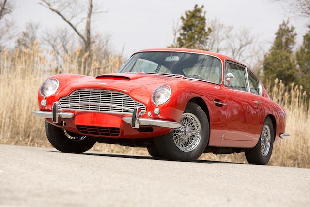 <b>1967 Aston Martin DB6 Sports Saloon  </b><br />Chassis no. DB6/2415/L <br />Engine no. 400/2334